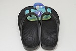 Pure Stride Flip Flops Black