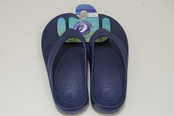 Pure Stride Flip Flops Navy