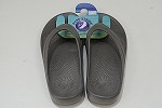 Pure Stride Flip Flops Gray